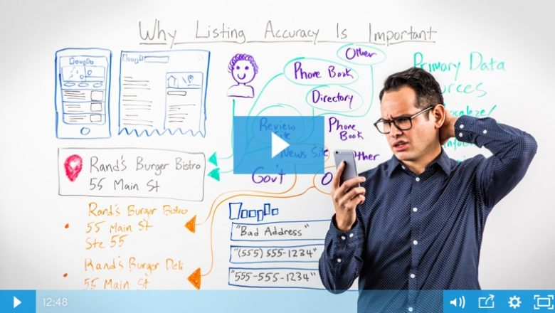 Learn more about why NAP consistency is important in this Whiteboard Friday.