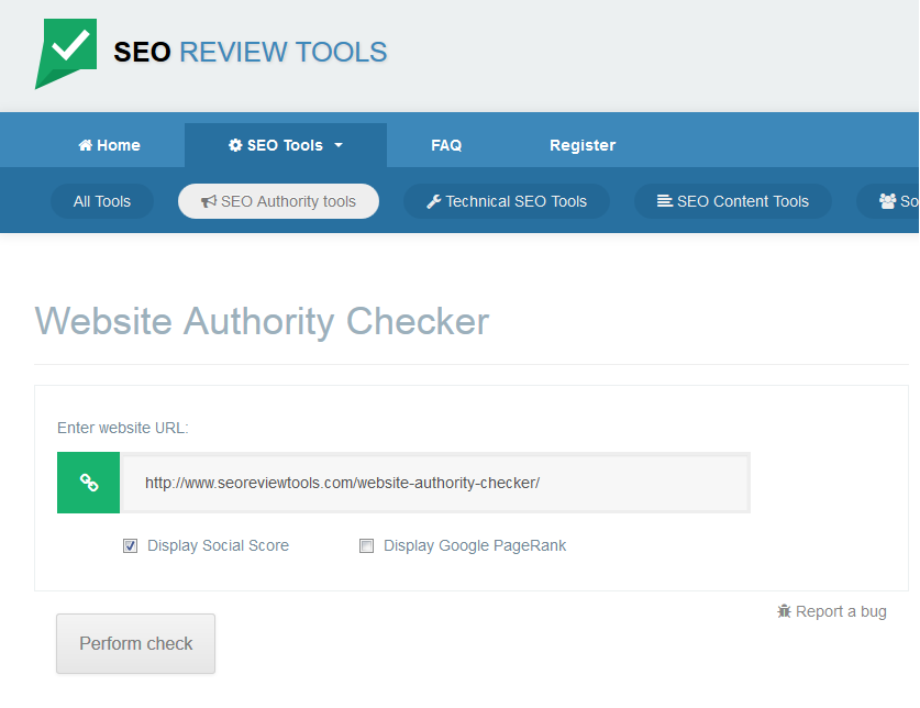 Bulk Domain Authority and Page Authority checker